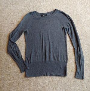 Mossimo gray long sleeve sweater